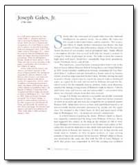 Joseph Gales, Jr. by Gales, Joseph, Jr.
