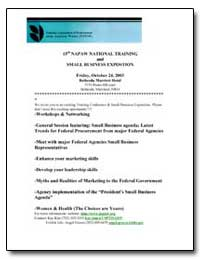 15Th Napaw National Training and Small B... by