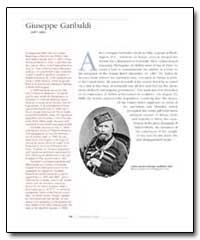 Giuseppe Garibaldi by Martegana, Giuseppe