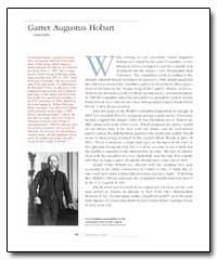 Garret Augustus Hobart by Hobart, Garret Augustus
