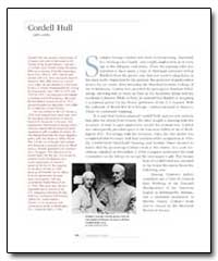 Cordell Hull by Conlon, George