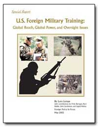 U.S. Foreign Military Training: Global R... by Barry, Tom