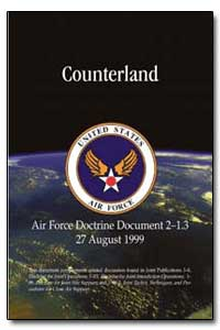 Counterland Air Force Doctrine Document ... by Kinnan, Timothy A.