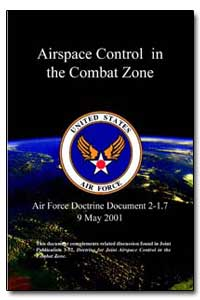 Airspace Control in the Combat Zone by Smith, Lance L.