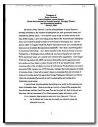Testimony of Hamy Hammitt Edstorl Publis... by