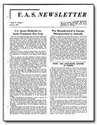 U.S. Sprays Herbicide on South Vietnames... by