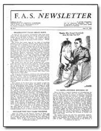 Disarmament Talks Break Down by Livingston, M. Stanley