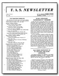 Fas Election Results by Wilson, Robert R.