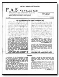 Federation of American Scientists — Foun... by Logue, John J.