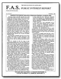Tarapur: Rethinking Non-Proliferation St... by Von Hippel, Frank