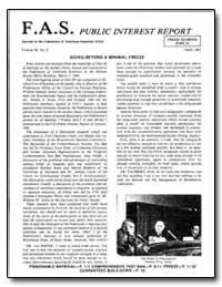 Going Beyond a Minimal Freeze by Von Hippel, Frank