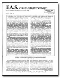 Chemical Weapons Convention : Major Prog... by Selson, Marthew S.