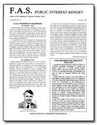 Fas Public Interest Report Journal of th... by King, Edward L.
