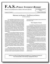 Fas Public Interest Report Journal of th... by Ajergood, Steven