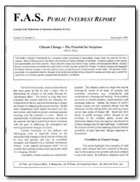 Fas Public Interest Report Journal of th... by Perry, John S.
