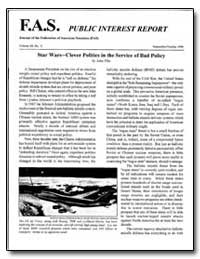 Fas Public Interest Report Journal of th... by Kaysen, Carl