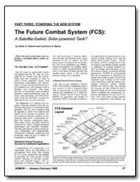 The Future Combat System (Fcs): Technolo... by Bacon, Lawrence D.
