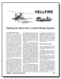 Getting the Most from a Lethal Missile S... by Lange, Adam W.