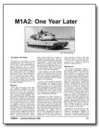 M1A2: One Year Later by Basso, John