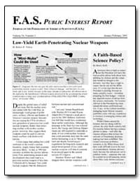 Fas Public Interest Report Journal of th... by Nelson, Robert W.