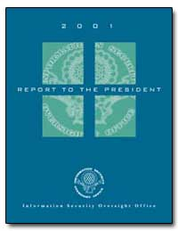 2001 Report to the President by Leonard, J. William