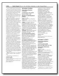 Department of Energy Federal Energy Regu... by Salas, Magalie R.