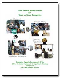 2004 Federal Resource Guide for Weed and... by