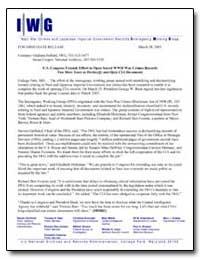 U.S. Congress Extends Effort to Open Sec... by Bullard, Giuliana