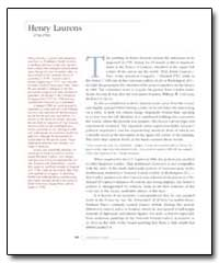 Henry Laurens by Laurens, Henry