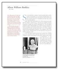 Alben William Barkley by Kallio, Kalervo