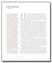 John Marshall by Powers, Hiram