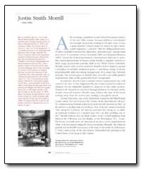 Justin Smith Morrill by Johnson, Jonathan Eastman
