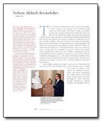 Nelson Aldrich Rockefeller by Calabro, John