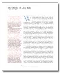 The Battle of Lake Erie by Powell, William Henry
