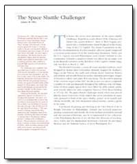 The Space Shuttle Challenger by Schmidt, Charles