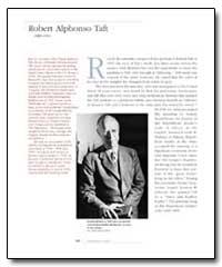 Robert Alphonso Taft by Bernatschke, Rudolf Anton