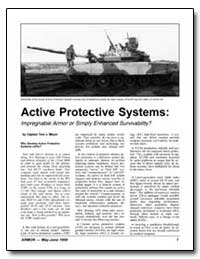 Active Protective Systems : Impregnable ... by Meyer, Captain Tom J.