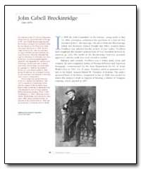 John Cabell Breckinridge by Voorhees, James Paxton