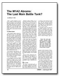The M1A2 Abrams: The Last Main Battle Ta... by Crist, Stanley C.