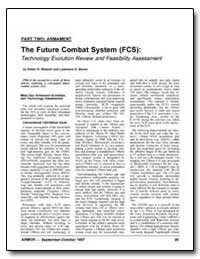 The Future Combat System (Fcs): Technolo... by Sharoni, Asher H.