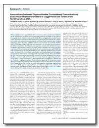 Associations between Organochlorine Cont... by Keller, Jennifer M.