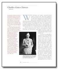 Charles Gates Dawes by Davidson, Jo