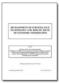 Development of Surveillance Technology a... by Campbell, Duncan