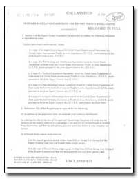 Proposed Regulations Amending the Export... by