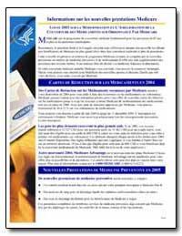 Loi de 2003 sur la Modernisation et L'Am... by