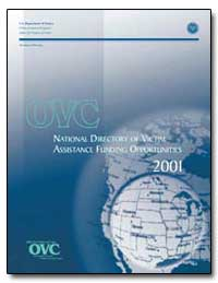 National Directory of Victim Assistance ... by Ashcroft, John, Attorney General