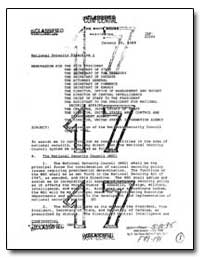 Memorandum for the Vice President by