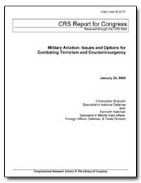 Military Aviation: Issues and Options fo... by Bolkcom, Christopher