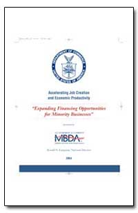 Expanding Financing Opportunities for Mi... by Langston, Ronald N.