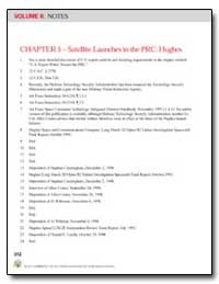 Chapter 5; Satellite Launches in the Prc... by